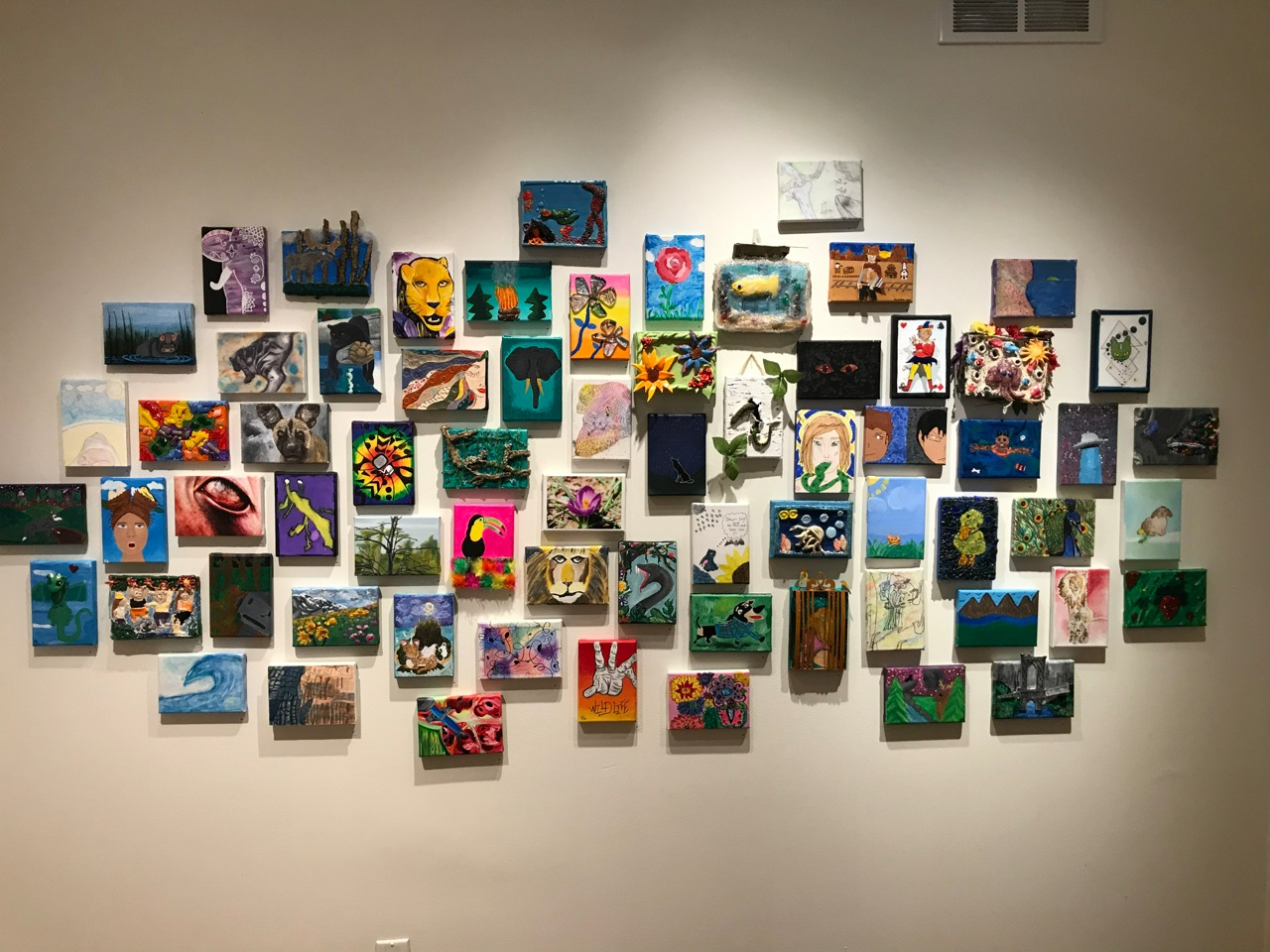 Student art featured at 6th Annual Finger Lakes Regional Student Painting Exhibition