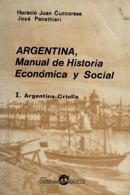 Cover of: Argentina   Horacio Juan Cuccorese