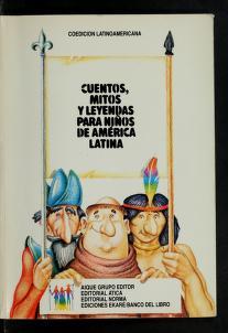 Cover of: Cuentos, mitos y leyendas para niños de América Latina | Ione María Artigas de Sierra