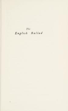 Cover of: The English ballad | Robert Graves