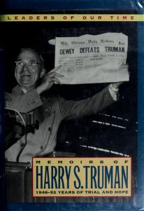Cover of: Memoirs by Harry S. Truman | Harry S. Truman