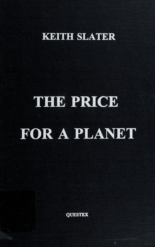 The Price for a Planet by Keith Slater