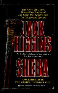 Cover of: Sheba | Jack Higgins