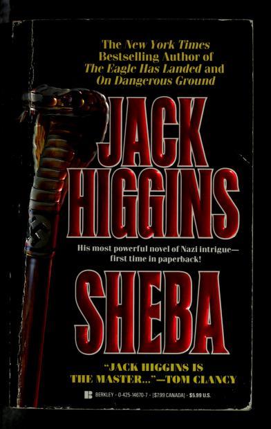 Sheba by Jack Higgins